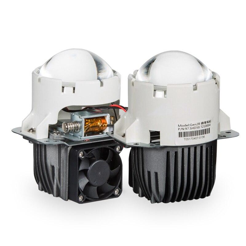 Купить 55 вт 35 дюйма bi светодиодный объектив для проектора автомобильная