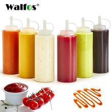 Бутылка для приправ walfos пластиковая бутылка салата сосуд