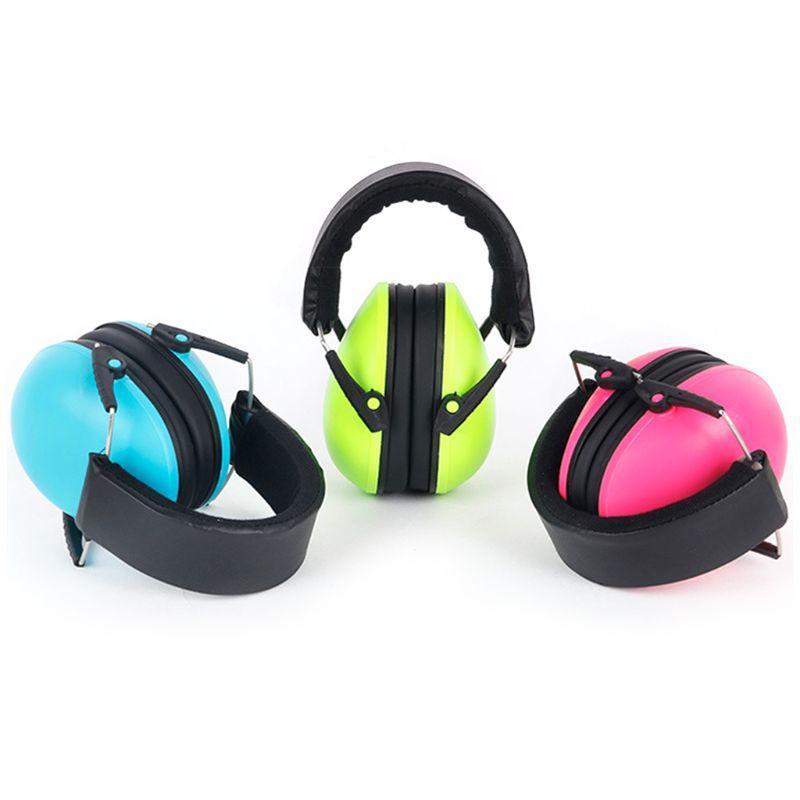 Детские наушники с защитой слуха и шумоподавлением