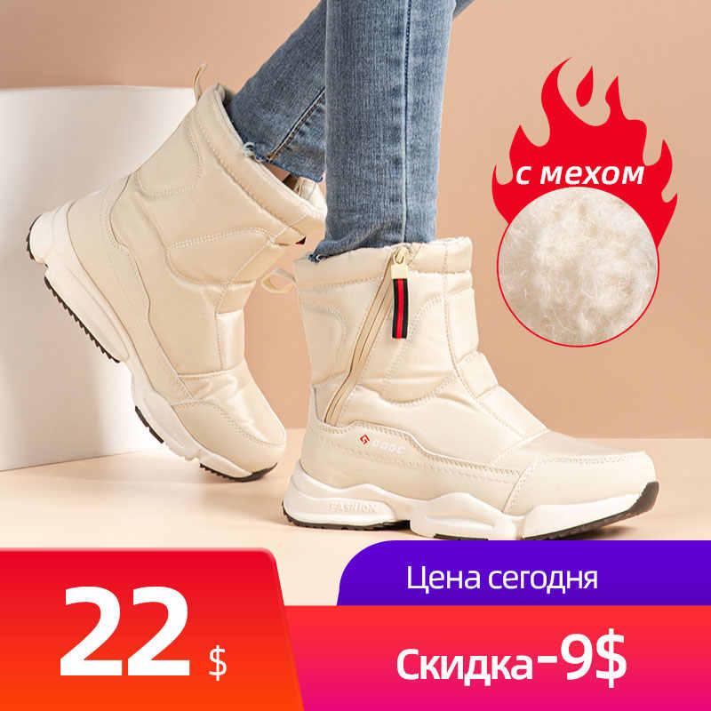 GOGC Nữ Giày Nữ Mùa Đông Giày Boots Nữ Ủng Giày Bốt Nữ Mùa Đông Giày Cho Nữ Mùa Đông Giày mắt Cá Chân Giày G9906