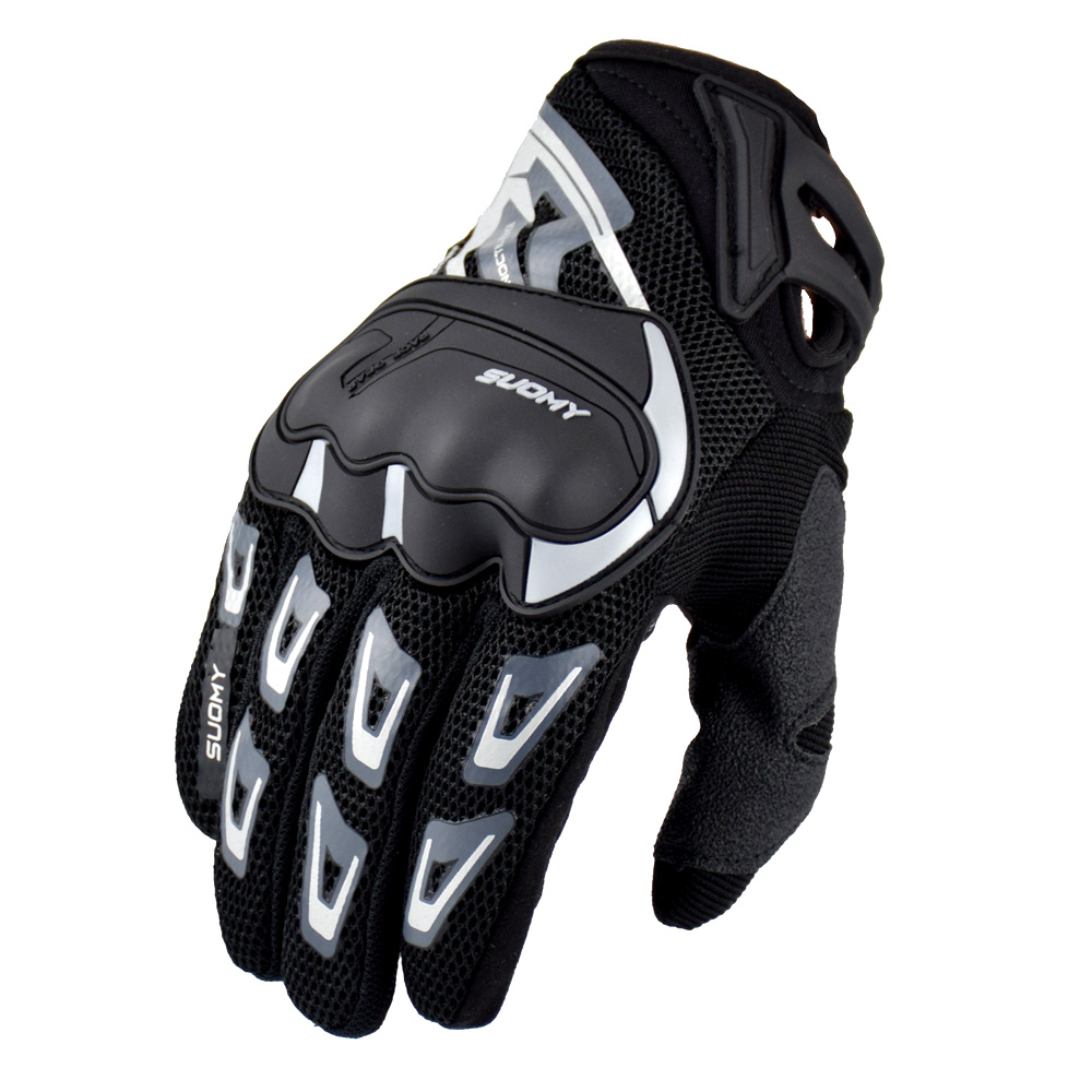 Suomy мотоциклетные перчатки летние дышащие внедорожные Мотоциклетные Перчатки guanti moto с сенсорным экраном спортивные велосипедные перчатки ...