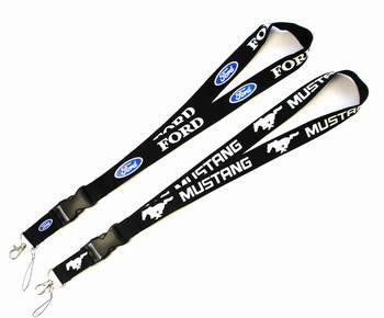 Brelok samochodowy breloczek do kluczy dla Ford Mustang akcesoria do stylizacji sporty wyścigowe kółko do kluczy etui na dowód mobilny pasek na szyję tanie i dobre opinie VN (pochodzenie) Brak moda Breloczki