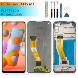 Для Samsung Galaxy A115 ЖК-дисплей A11 сенсорный экран дигитайзер в сборе SM-A115F/DS дисплей + рамка запасные части для ремонта 6,4