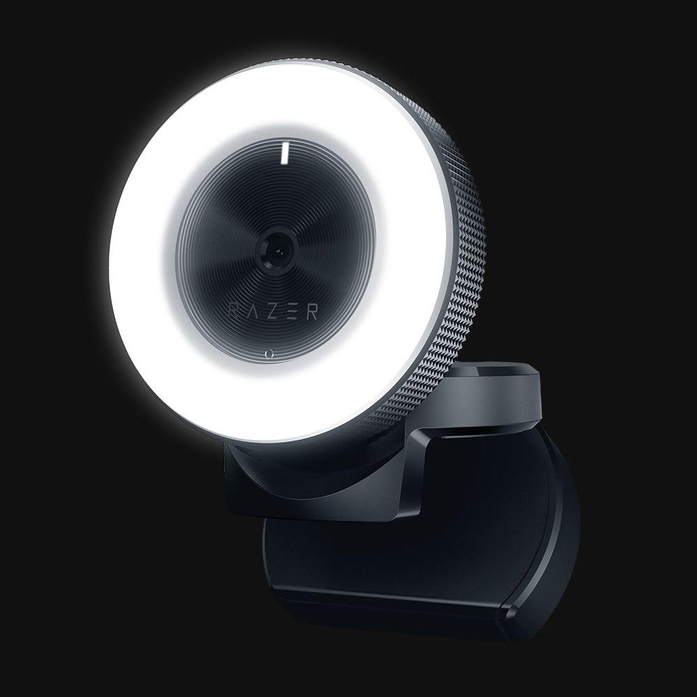 Razer kiyo 1080p desktop streaming câmera webcam