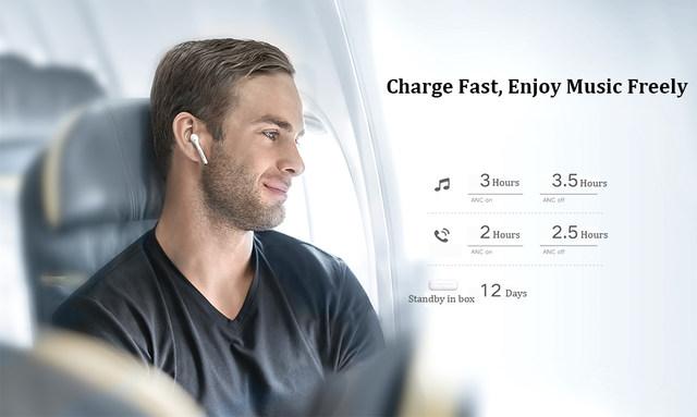 Huawei Honor FlyPods 3 Wireless Earphone TWS Three Microphone Noise Reduction Bluetooth 5.0 Waterproof IP54 Wireless Charge (11)