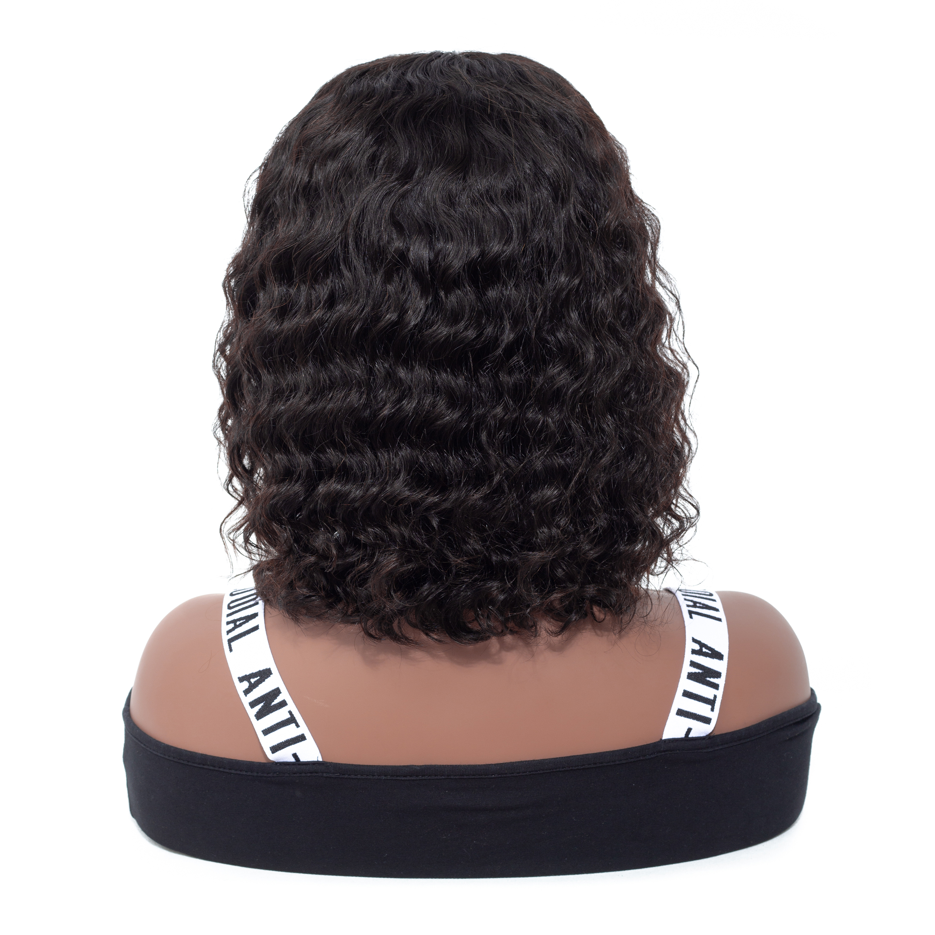 13 4 Lace Front Human Hair Wigs Brazilian Water Wave Short Bob Wigs With Baby Hair VSHOW Remy Hair Lace Front Wigs in Human Hair Lace Wigs from Hair Extensions Wigs