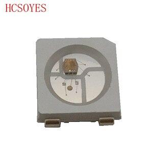 Image 3 - Dc 5V 10 ~ 100Pcs WS2812B (4Pins) 5050 Smd Led Chip Individueel Adresseerbare Zwart/Wit 2016 Versie WS2812 Digitale Rgb Led Chip
