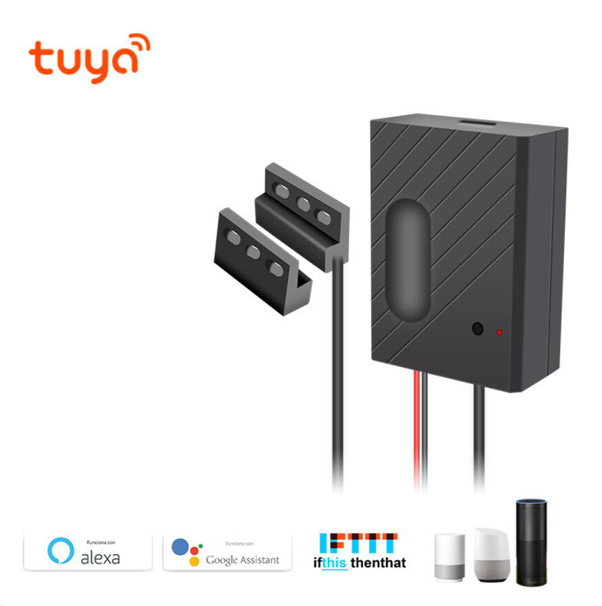 Tuya WiFi Smart Garage Door Switch Wireless Remote Control Support Alexa, Google Voice Control