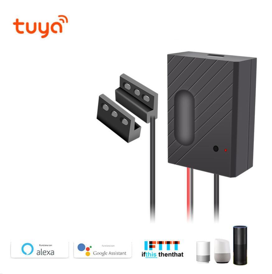 Tuya WiFi Smart Garage Door Switch Wireless Remote Control Support Alexa, Google Voice Control