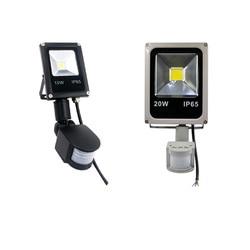 Светодиодный прожсветильник Тор с датчиком движения, водонепроницаемый, 220 В переменного тока