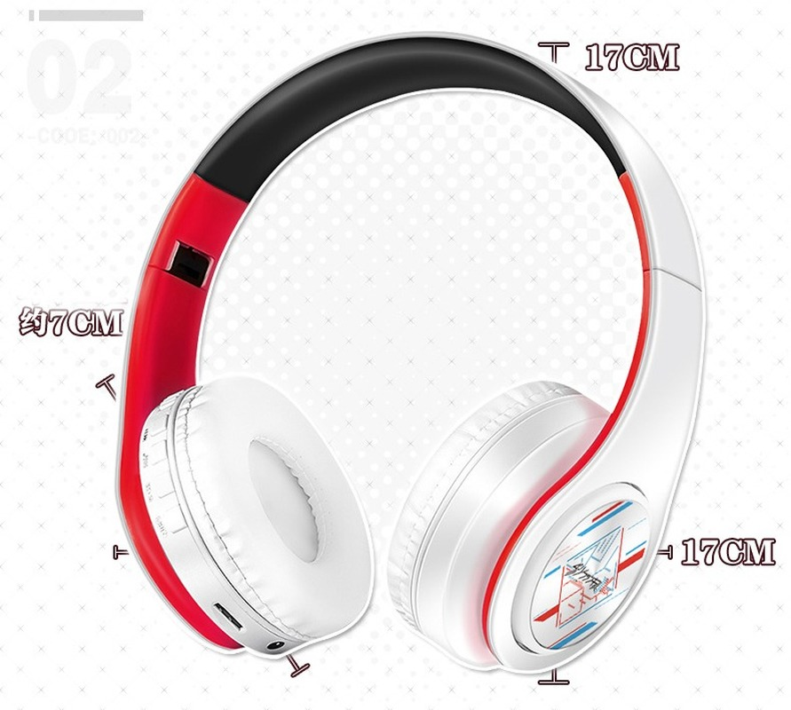 Anime Darling in the FranXX Wireless 2 in1 Bluetooth Headset Zero Two Cosplay Comfortable Stereo Foldable Gaming Headphones Gift 4