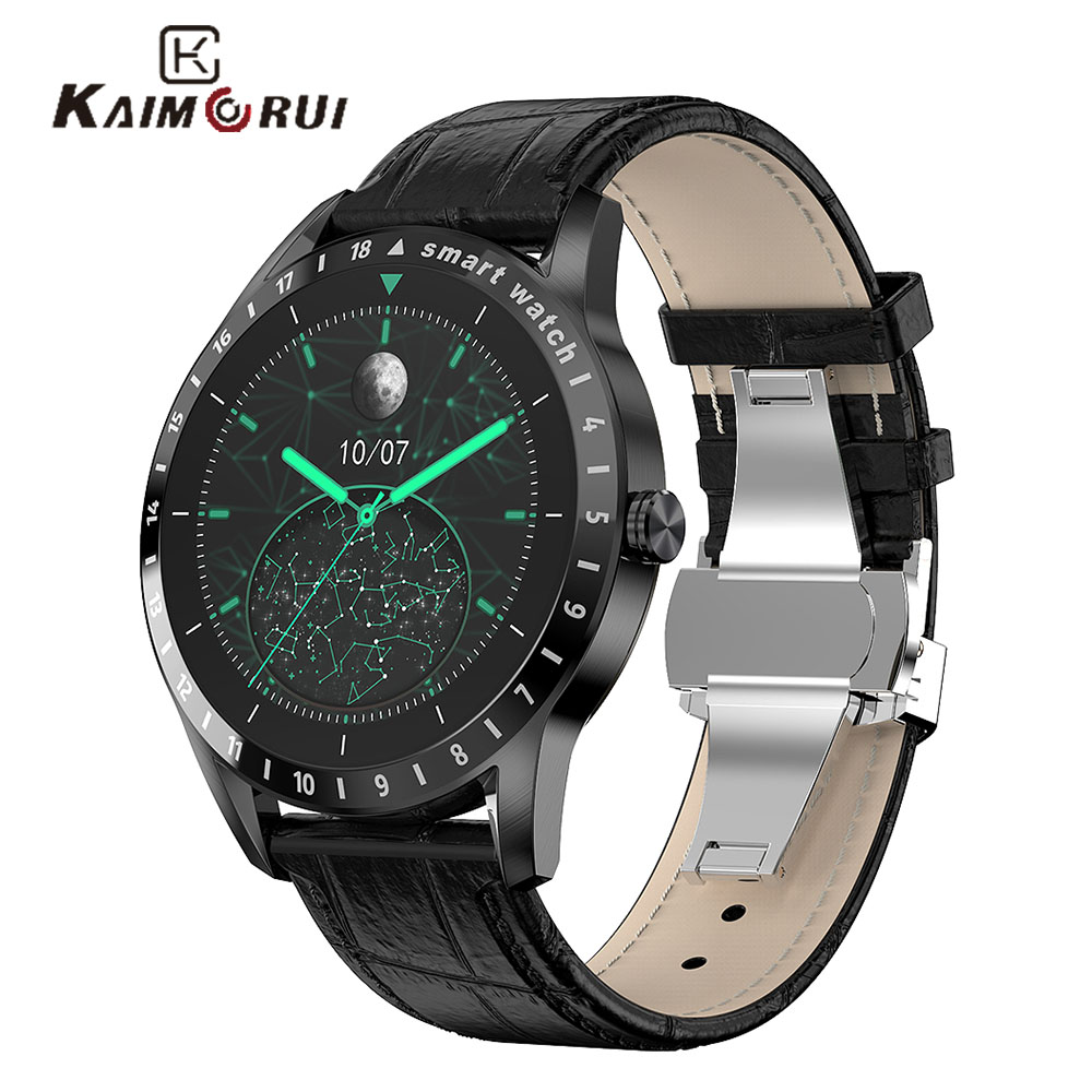 Smart Watch Men,Heart Rate Monitor Fitness Tracker,1.39 Inch Screen Activity Tracker,Men's Wristwatch,Smartwatch For Android iOS