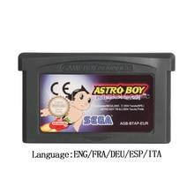 Cartucho de videojuegos para Nintendo GBA, tarjeta de consola Astro Boy Omega Factor, versión EU