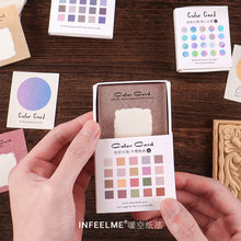 Special Paper Note Paper Dot Color Fantasy Hand Account Material Card Hand Account Backing Paper 4 Cute Stationery Kawaii Decor