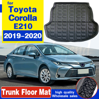 Car Rear Trunk Luggage Mat Cargo Tray Boot Liner For Toyota Corolla Sedan E210 2019 2020 Auto Carpet Protector Floor Anti-dirty image