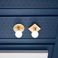 Nordic Einfache wand lampe Nacht Lampe Korridor Stairway Flur Dach Beleuchtung Designer Kleine Dach Beleuchtung-in LED-Innenwandleuchten aus Licht & Beleuchtung bei