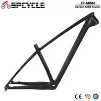 Spcycle 2020 New T1000 Carbon MTB Frame 27.5er 29er Mountain Bike Carbon Frame 142*12mm Thru Axle Size 15/17inch