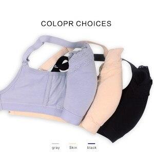 Image 4 - Silikon Brust Formen Gefälschte Brüste und Mastektomie Bh mit Taschen für Künstliche Brust Prothese Frau Ohne Stahl Ring
