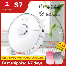 2021 NEW Roborock S7 Robot vacuum cleaner sonic mopping ultrasonic carpet clean alexa mop lifting upgrade for home smart S5 max