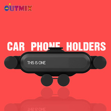 Universal Car Phone Holder For Phone in Car Air Vent Clip Mount No Magnetic Mobile Phone Holder GPS Stand For iPhone 11 Xiaomi universal car swivel air vent mount holder for gps cellphone black