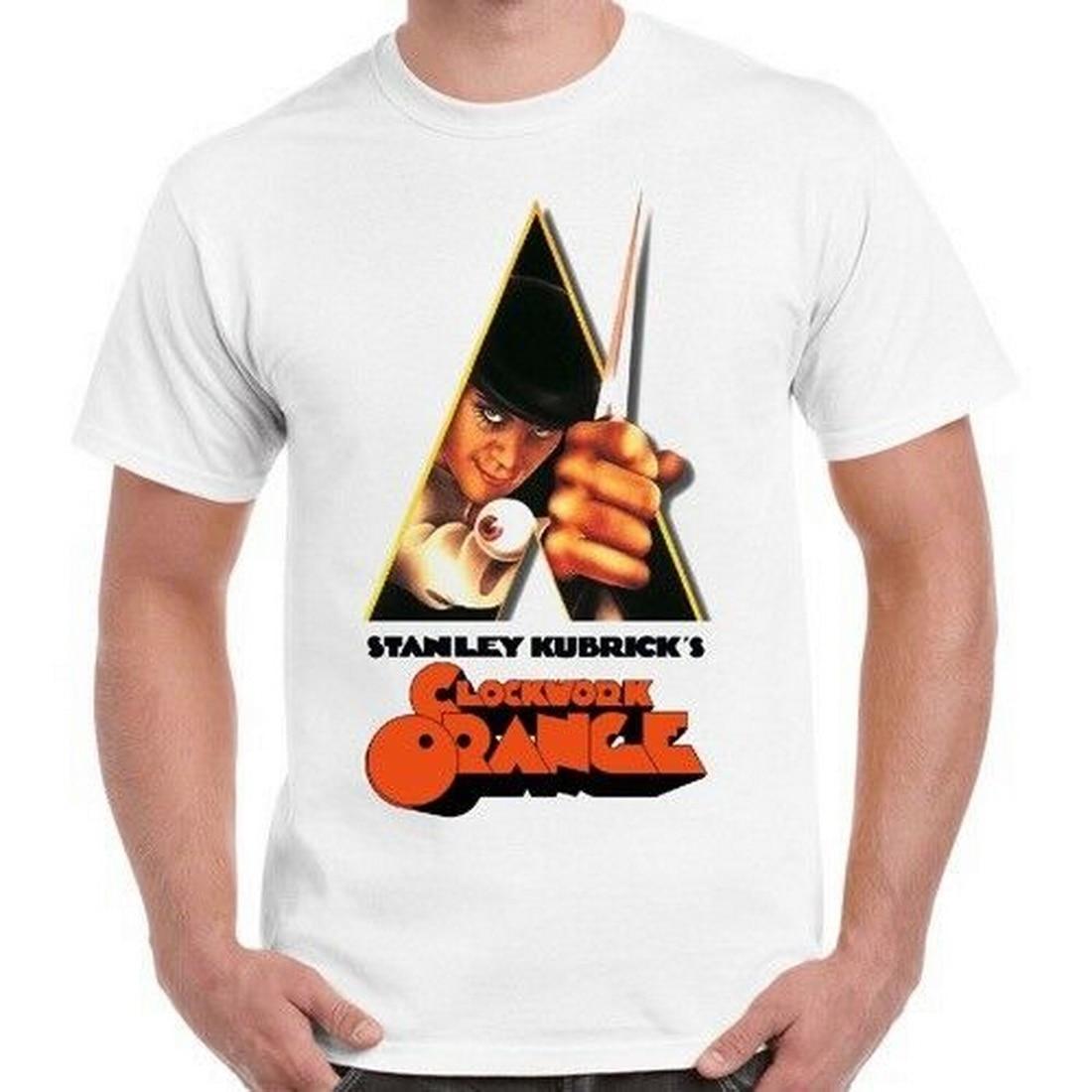 Neuf Stanley Kubricks Clockwork Orange Movie Poster T Shirt