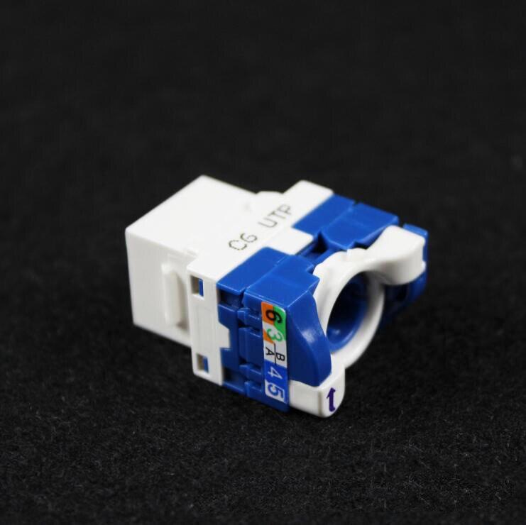 CAT5E CAT6 rotación Toolless Keystone Jack/Modular Jack para red RJ45 conector de alta calidad Convertidor de medios de Fibra óptica a rj45 UTP 1310/1550, Fibra a conmutador ethernet, Fibra de 10/100M, transceptor de Fibra óptica