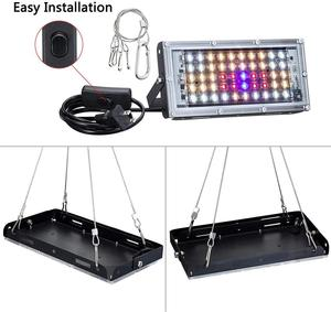Indoor LED Wachsen Licht 800W Phyto Lampe Volle Spektrum Lampe Für Anlage Wachsen Zelt Licht Für Pflanzen Warme Weiß wasserdichte Led Fitolamp