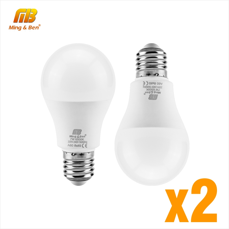 2PCS LED Bulbs LED E27 9W 12W 15W 18W AC220V Real Power LED Lamp LED Bombilla Lighting Warm White Cold White Day White Lampada