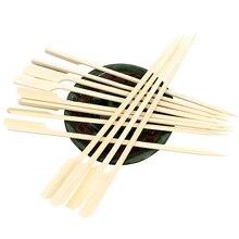 25 см* 3 мм бамбуковая закуска шампуры одноразовые деревянные палочки для барбекю инструмент для барбекю натуральные деревянные зубочистки аксессуары для барбекю 500 шт