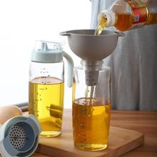 4-in-1 Funnels Set Oil Funnel Strainer Kitchen Tools Oil Water Spices Wine Flask Filter Funnel Plastic Kitchen Accessories