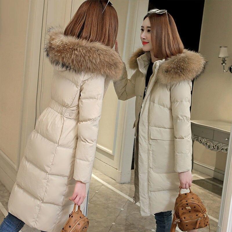 Ticket Purchase Is Only 29.9USD   Winter Ultra Light Duck Down Warm Female Down Coat Female Outwear Hooded Long Sleeve