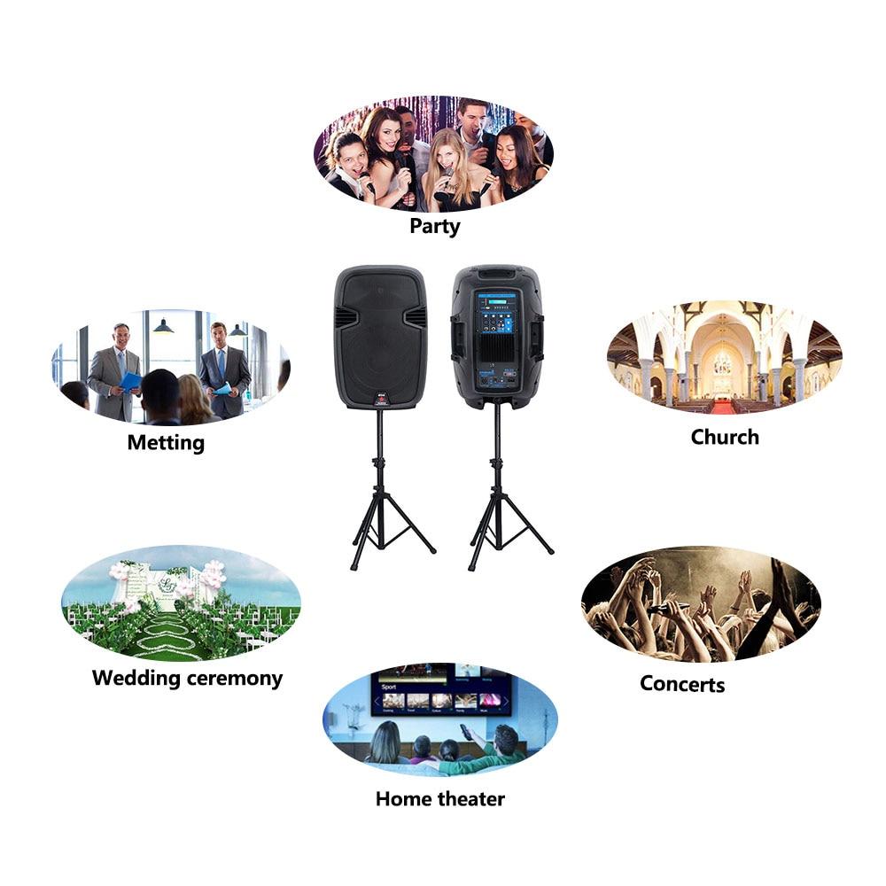 dj party stage speakers