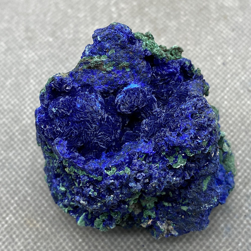 Natural azurite mineral cristal espécime da província de anhui, china
