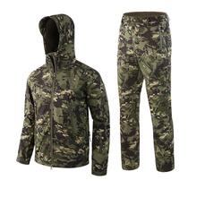 Mężczyźni Outdoor wodoodporne kurtki TAD V 5 0 XS Softshell polowanie strój odzież termiczna taktyczne Camping piesze wycieczki oddech Sport garnitur tanie tanio WOLF ENEMY Poliester CN (pochodzenie) WindStopper Szybkie suche Wodoodporna Wiatroszczelna Termiczne About 1600g Pasuje prawda na wymiar weź swój normalny rozmiar
