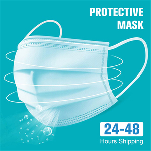 Image 2 - 10 100PCS Anti Gas Dust Face Mouth Masks Mask Mascherine Mascara Safety Mascarillas de Proteccion Face Mask Protective Facemask