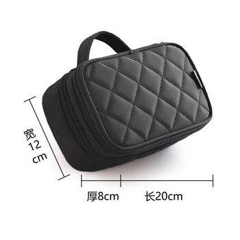 New Fashion Zipper Women trave Make Up  bag Big Capacity 2 layers cosmetic bags beauty Case Makeup Organizer Toiletry bag kits 3