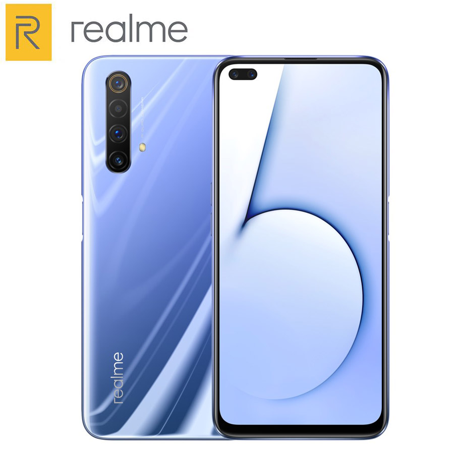 Original Realme X50 5G Mobile Phone 8G 128G 6.57 Snapdragon 765G Quad camera 64MP 4200mAh 30W NFC 120HZ 5G Cellphone image