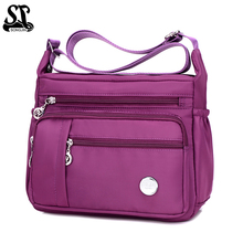 HOT SALE! Women Bag Tote Multi-pocket Design Womens Shoulder Bags Large Capacity Messenger