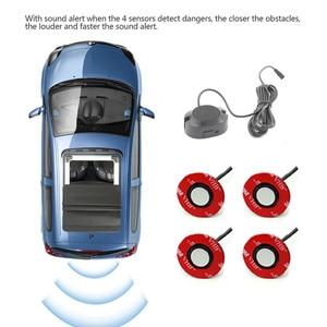 Image 1 - Kit sensor de estacionamento reverso radar backup para fiat 124 aranha 500 500c 500l 500x brava albea bravo doblo ducato marea