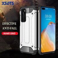 Funda armadura a prueba de golpes para Huawei P40, P30, P20 Pro, Mate 30, 20 Lite, 20X, 2019, híbrido, PC, TPU