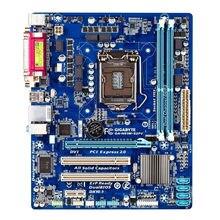 GA-H61M-S2PV para gigabyte original pcplaca-mãe ddr3 ram micro-atx usb 2.0 desktop usado placa-mãe intel h6lga 1155 i3 i5 i7