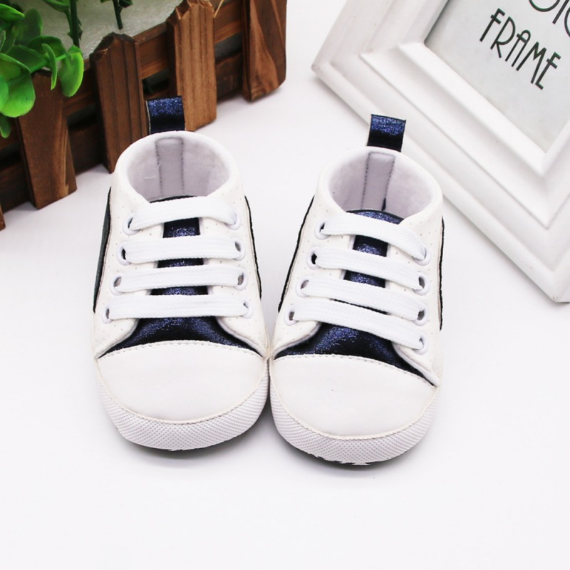 Baby Shoes Girl Boy Comfortable Crib Shoes KIds Great Gift To Baby Patchwork Anti-slip Design  Kids  Fabric Shoe New