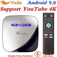 X88 pro Android 9.0 TV Box 4GB RAM Max 128GB ROM RK3318 4Core 5G Dual Wifi 4K 2G16G Set Top Box Google Play YouTube Media Player