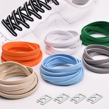 1Pair Elastic Shoelaces No Tie Kids Adult Quick Lazy Laces Flats Rubber Sneakers Running Shoelace 24 Colors