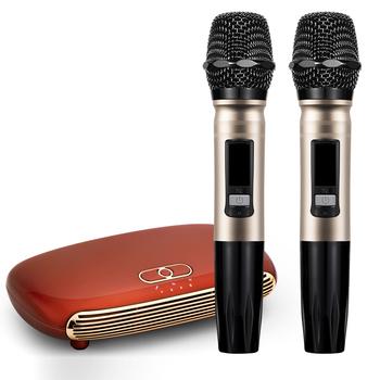 K8 optyczny HDMI ARC bezprzewodowy Bluetooth 5 0 Karaoke Box mikrofon odtwarzacz Karaoke domu Karaoke Echo mikser System śpiewu maszyny tanie i dobre opinie DOWDON CN (pochodzenie) Black Red Retailing Package