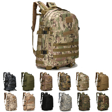 цена на Military Tactical Backpack Camouflage Men Women Sport Bags Hiking Trekking Travel Camping Backpack
