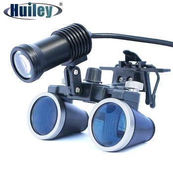 Lighted Dental Loupe Binocular Surgery Magnifier Surgical Loupe with Headlight LED Light Operation Medical Loupe Dentist dental led operation lamp oral light for dental unit with sensor manual switch