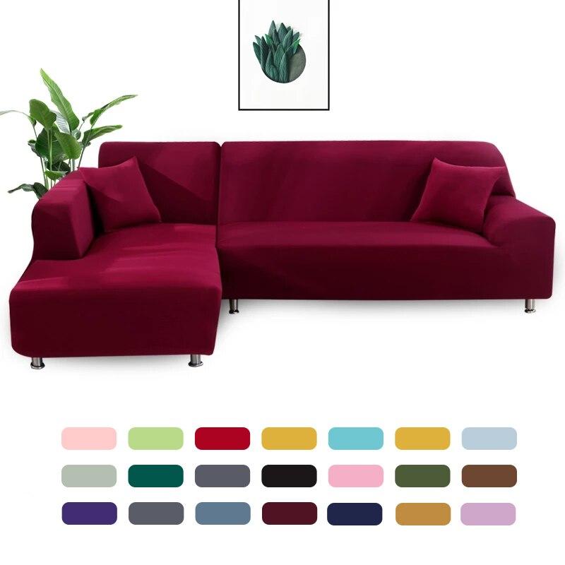 Sofa Cover Geometrische Couch Cover Elastische Sofa Cover Voor Woonkamer Huisdieren Hoek L Vormige Chaise Longue Sofa Hoes 1pc