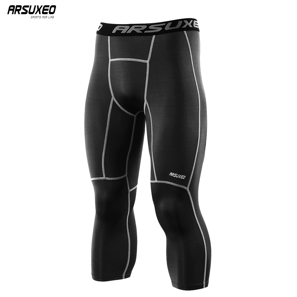 Fri A Lot Love Breathable Compression Pants//Running Tights Cycling Pants Male Tall