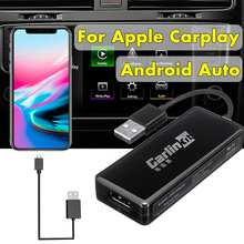 Carlinkit-llave electrónica para reproductor de navegador GPS, Mini adaptador USB de Apple Carplay de enlace inteligente para Android
